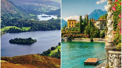 """Kur rasti gražiausius ežerus, kuriuos matote """"Instagrame"""""""