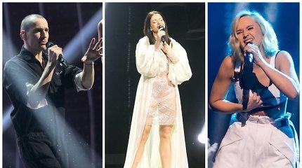 """""""Eurovizijos"""" pirmajame pusfinalyje – Aistės Pilvelytės triumfas: komisijos ir žiūrovų nuomonė išsiskyrė"""