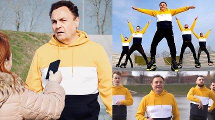 """Į skandalingą P.Gražulio šokį sureagavo """"Kangoo Jumps"""" tinklas: atsiprašo LGBT, svarstys darbuotojų klausimą"""