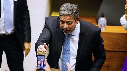 Brazilijos Kongresas naujaisiais lyderiais išsirinko J.Bolsonaro sąjungininkus