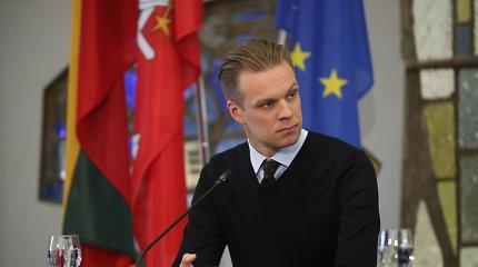 Gabrielius Landsbergis apie pergalę EP rinkimuose: rezultatai neblogi