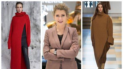 Ramunės Piekautaitės kurtas megztinis panašus į kitos dizainerės drabužį. Palyginkite