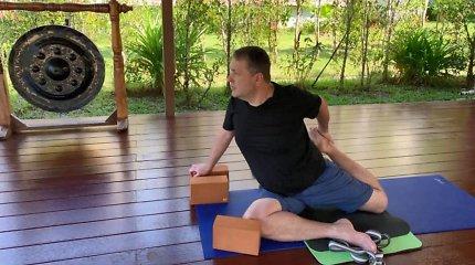 Antanas Guoga atsikratė 14 kilogramų: ryžosi ir bado mėnesiui klinikoje Tailande