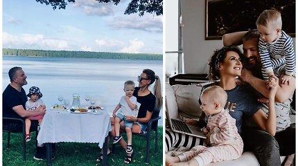 Katažina ir Deivydas Zvonkai švenčia medines vestuvių metines: 5 metai įamžinti jaukiose akimirkose