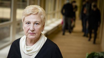 Buvusiai Seimo vadovei I.Degutienei skirta valstybinė pensija