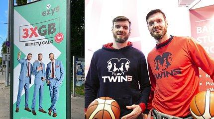 """Po kilusio ažiotažo """"Telia"""" nusprendė: stabdo """"Ežio"""" reklamą su broliais Lavrinovičiais"""