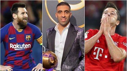 R.Lewandowskis ir L.Messi – už nugaros daugiausiai įvarčių 2019-aisiais pelniusiam marokiečiui