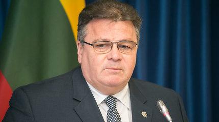 L.Linkevičius britų ministrui žada prisidėti prie kovos su terorizmu