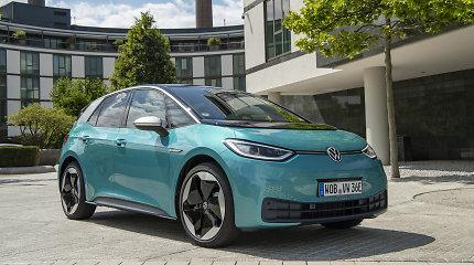 """""""Volkswagen"""" elektromobilių sektoriuje turi grandiozinių planų – per 5 metus investuos 73 milijardus eurų"""