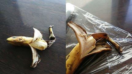 """Pavojingi """"pokštai"""" tęsiasi: Raudondvario parduotuvėje pirktame banane – adata"""