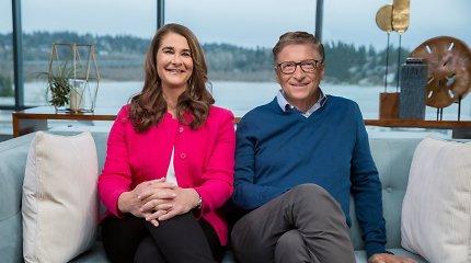 Teismo dokumentai atskleidė Billo ir Melindos Gatesų skyrybų iniciatorių ir kaip pora dalysis turtus