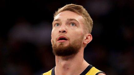 """""""Pacers"""" vėl pasaugojo D.Sabonį, tačiau gavo vienos silpniausių NBA komandų antausį"""