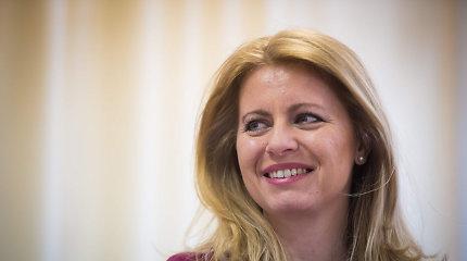 Prezidento rinkimuose slovakai viltis deda į kovotoją su korupcija, LGBT rėmėją Z.Čaputovą