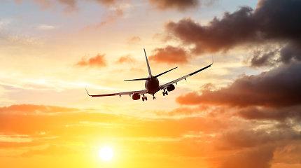 Keleivių Ukrainos oro uostuose pirmąjį metų ketvirtį sumažėjo daugiau nei perpus