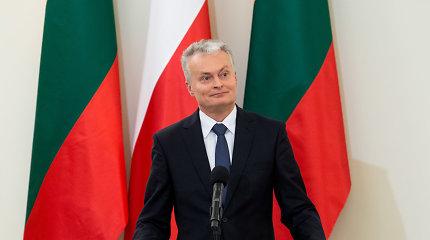 """Tiesa ar melas? G.Nausėda: """"Lenkija yra antroji pagal didumą mūsų eksporto partnerė"""""""