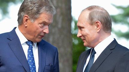 Rusijos ir Suomijos prezidentai susitiks Sočyje