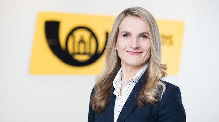 Naujoji Lietuvos pašto vadovė sieks sustiprinti įmonės vadovų komandą