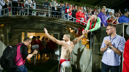 Dėl Marijampolės stadione užgesusios aistruolio gyvybės – UEFA užuojauta