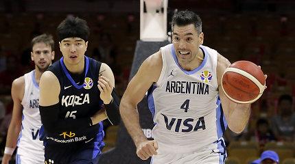 Pirmosios pasaulio čempionato dienos finišo tiesioji: Argentina nepasigailėjo Pietų Korėjos