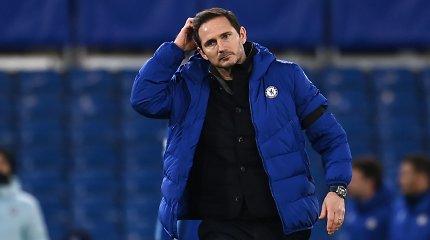 F.Lampardas viešai prabilo po netikėto atleidimo: gailisi negavęs šanso