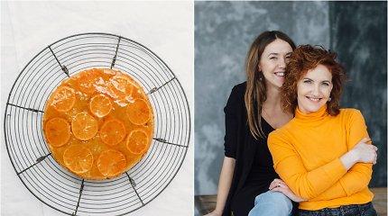 FeedMySister receptas: mandarininis pyragas