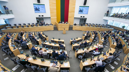 Seimo valdyba prašo papildomų 1,5 mln. eurų darbuotojų algoms, salės atnaujinimui