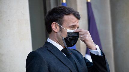"""Naujame karių laiške E.Macronas įspėjamas dėl """"Prancūzijos išlikimo"""""""