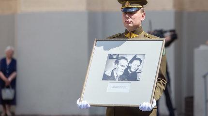 Vilniuje perlaidoti signataro Mykolo Biržiškos palaikai