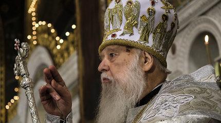 Ukrainos Ortodoksų Bažnyčia suvienyta, bet ne vieninga: patriarcho Filareto maištas