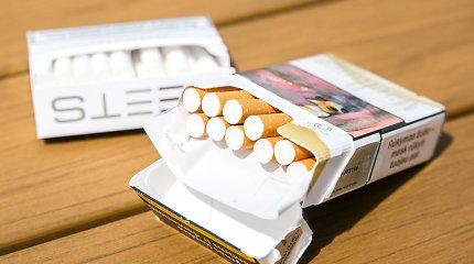 Ministerija: draudimą parduotuvėse demonstruoti rūkalus turėtų įvertinti EK
