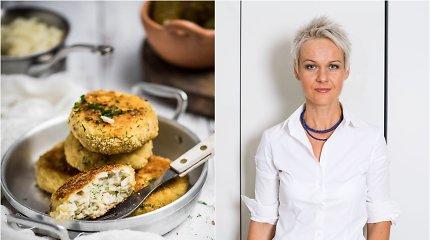 Nidos receptas: sultingi žuvies ir bulvių kotletai
