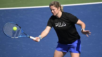 """Trečiasis sugrįžimas: pirmoji K.Clijsters varžovė – """"Australian Open"""" vicečempionė"""