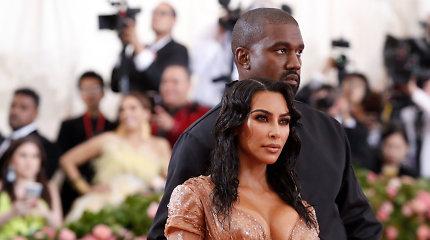 Tobula vestuvių metinių dovana: Kanye Westas žmoną nustebino netikėtu pasimatymu