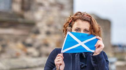 Už Škotijos nepriklausomybę pasisakanti partija artėja prie daugumos regiono parlamente