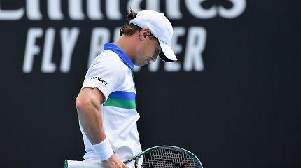 ATP reitingas: įspūdingas Melburne triukšmavusio ruso šuolis ir R.Berankio prarastos pozicijos