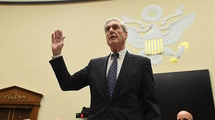 R.Muellerio liudijimas: paneigė, kad D.Trumpas išteisintas dėl trukdymo teisingumui