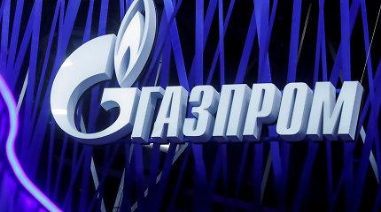 """""""Gazprom"""" dujų eksportą į Europą pirmąją sausio pusę padidino 1,4 karto"""