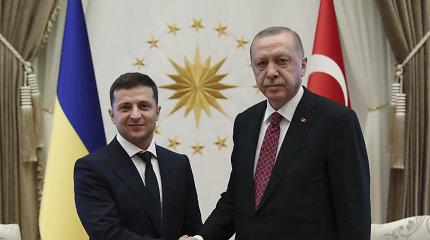 R.T.Erdoganas: Ankara nepripažįsta Krymo aneksijos
