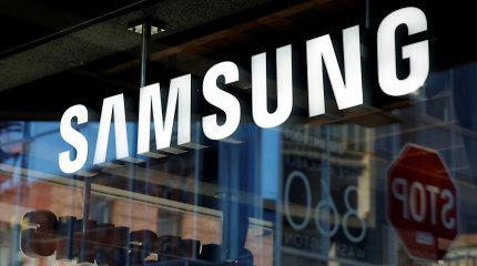"""Pietų Korėjos ir Japonijos ginčas verčia """"Samsung"""" ieškoti alternatyvų Japonijos tiekėjams"""