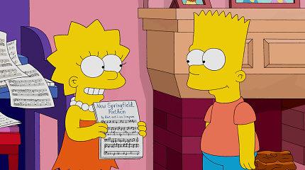"""Testas: ar pavyks atsakyti bent į 10 iš 12 klausimų apie populiarųjį serialą """"Simpsonai""""?"""