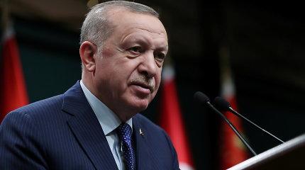 R.T.Erdoganas žada mobilizuoti pasaulį ir sustabdyti Izraelio terorą