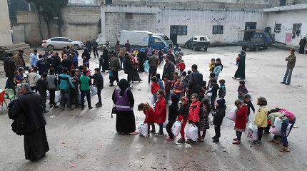 R.T.Erdoganas: iš Sirijos Idlibo Turkijos sienos link vyksta per 200 tūkst. pabėgėlių