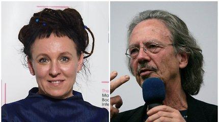 Nobelio literatūros premija atiteko Olgai Tokarczuk ir Peteriui Handkei