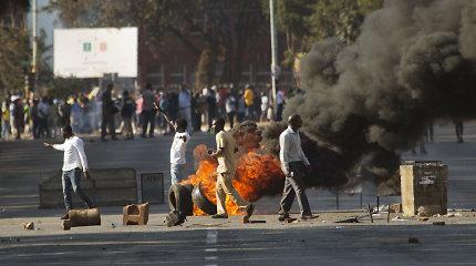 Zimbabvės opozicija skųs rinkimų rezultatus teisme
