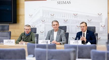 A.Juozaičio, N.Puteikio ir S.Gorodeckio partijos į rinkimus eis kartu: tikisi 7 ar 15 mandatų