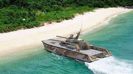 Indonezija gamina laivą-tanką – kokia bus šio ginklo paskirtis?