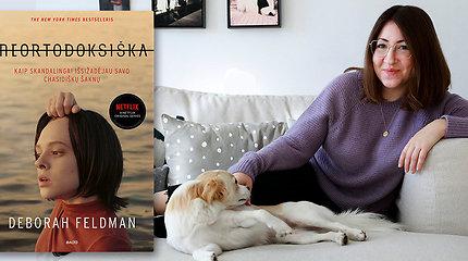 """""""Neortodoksiškos"""" autorė Deborah Feldman: """"Knyga tapo kovos įrankiu, kuris pasitarnavo ne tik man"""""""