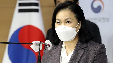 Pietų Korėjos prekybos ministrė pasitraukė iš kovos dėl PPO vadovo posto