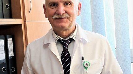 """LSMU Kauno ligoninės vadovas prof. Albinas Naudžiūnas: """"Medikų ištvermė šiame kare – tikras stebuklas"""""""
