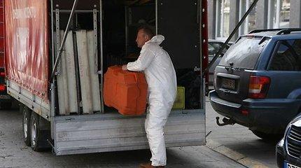 Kaune rasta dėžė su 21 kilogramu gyvsidabrio
